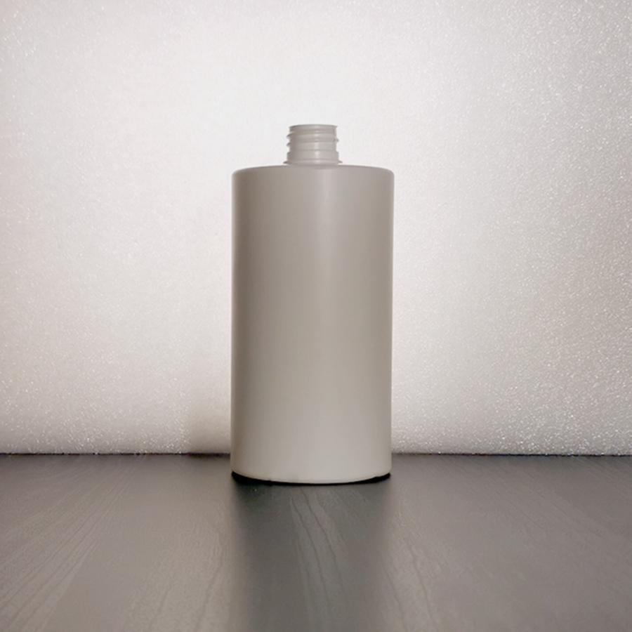 Suora-olkainen HDPE muovipullo 28/410