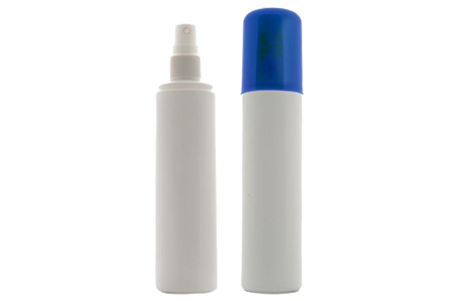 Wholesale PE and PET spray bottle, spray cap