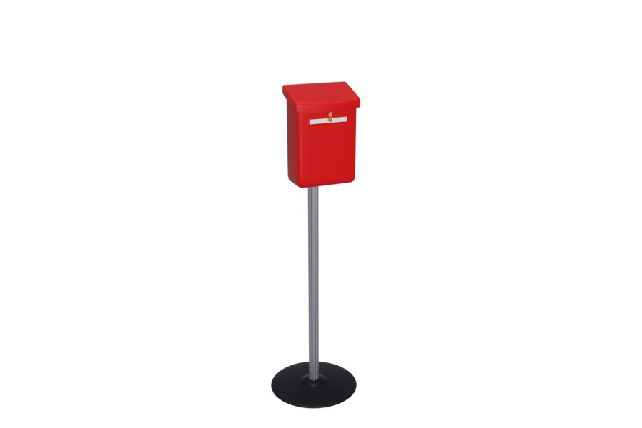 Boxer - a free standing mailbox for any environment