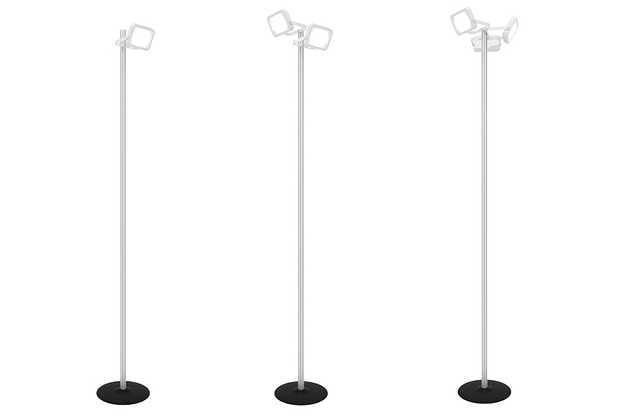 Pole for spot lights