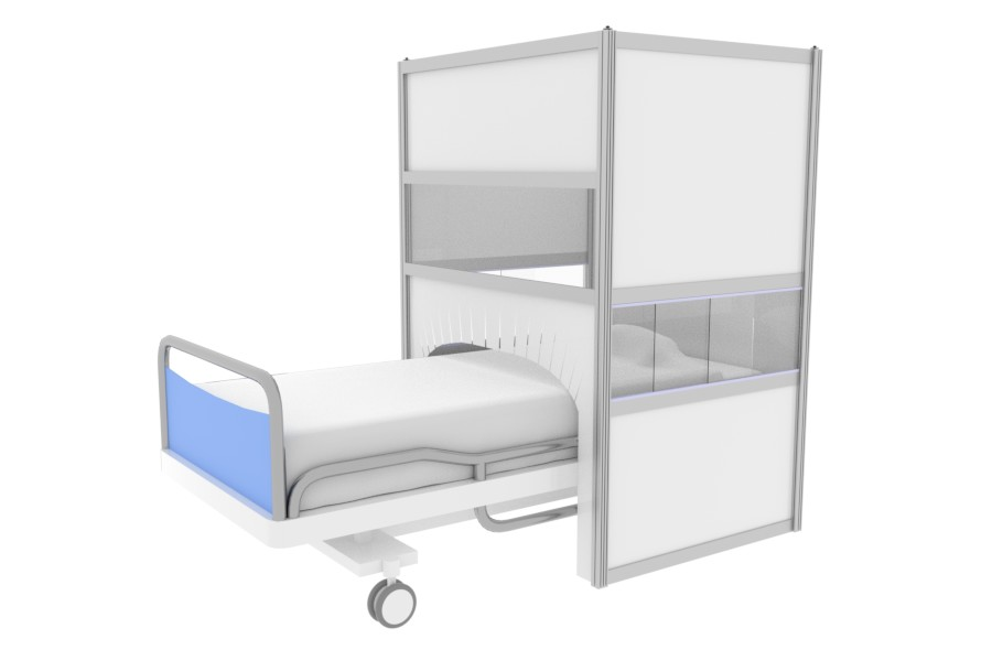 Shielding equipment for hospitals