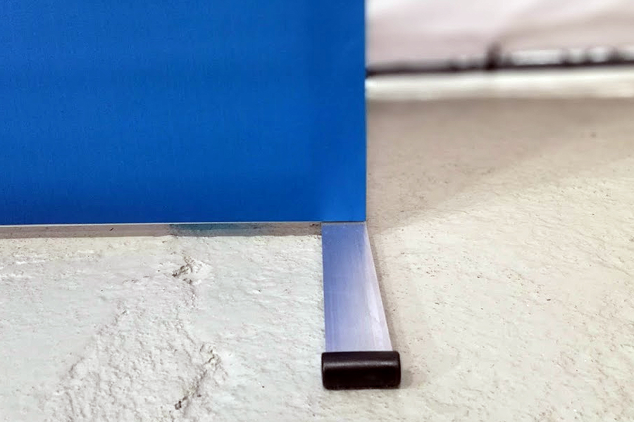 Super easy aluminum frame wall double sided