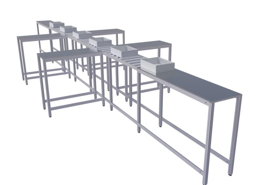 Aluminum Profile Assembly Line