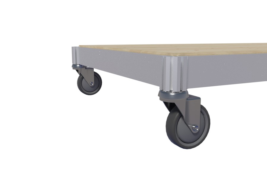 Wheeled movers for any product