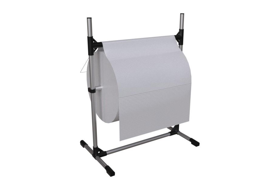 Roll Dispenser Stand rullateline paperille muoville ja kuplamuoville